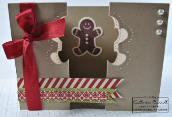 Scentsational Season aperture double gatefold card open