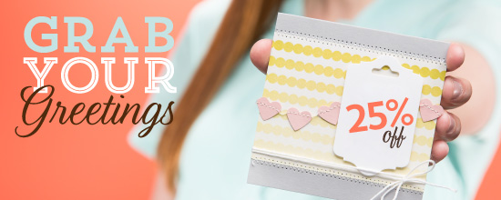 grab your greetings Stampin up special offer
