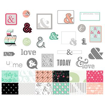 Amped up ampersands stampin up