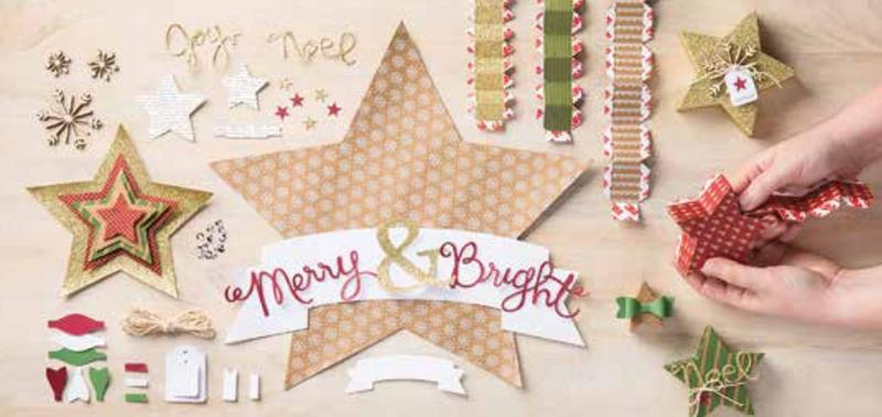 Many merry stars creative kit