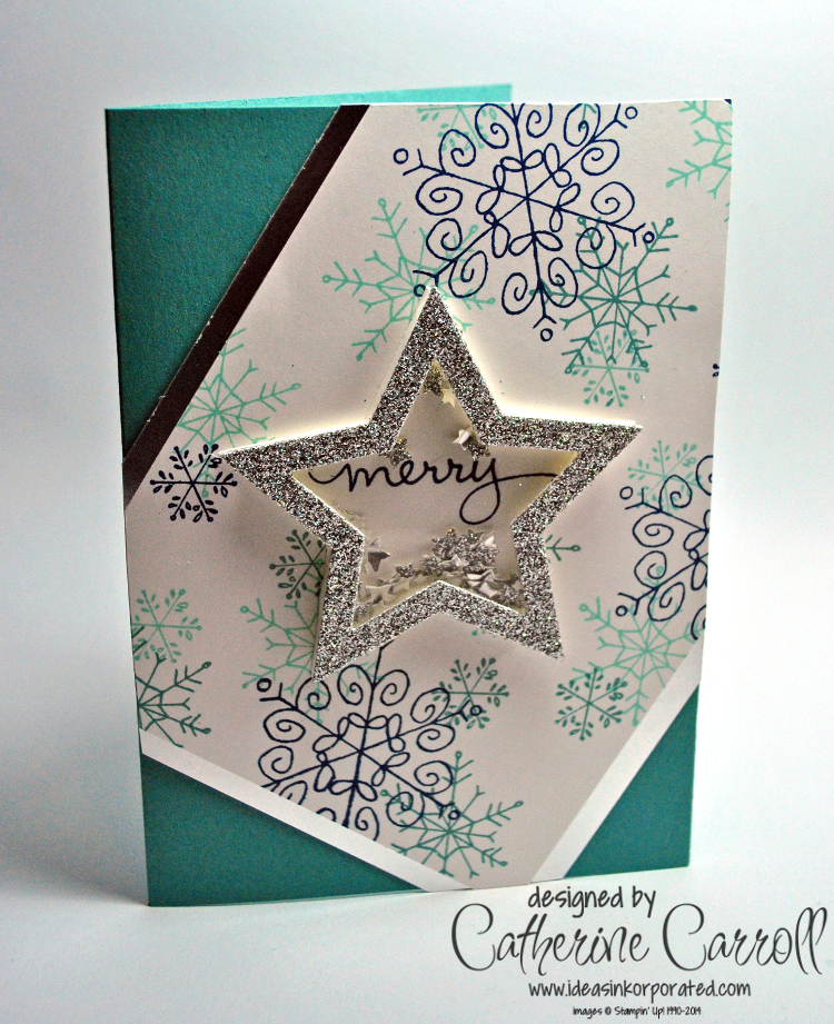 Endless Wishes Star shaker card