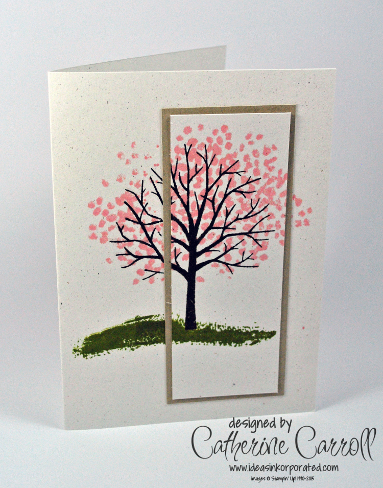 Layered Stamping with Sheltering Tree