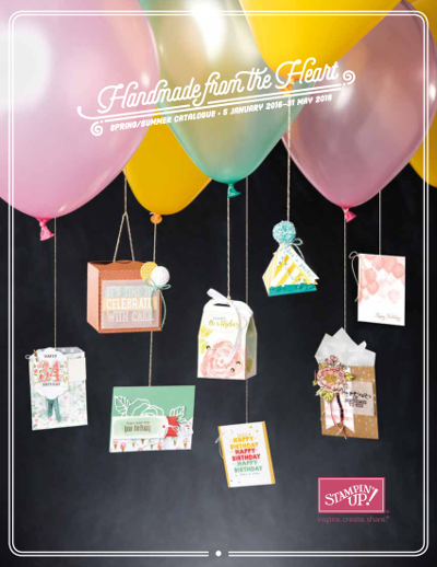 Sale-a-Bration and New Spring Summer Catalogue from Stampin' Up!