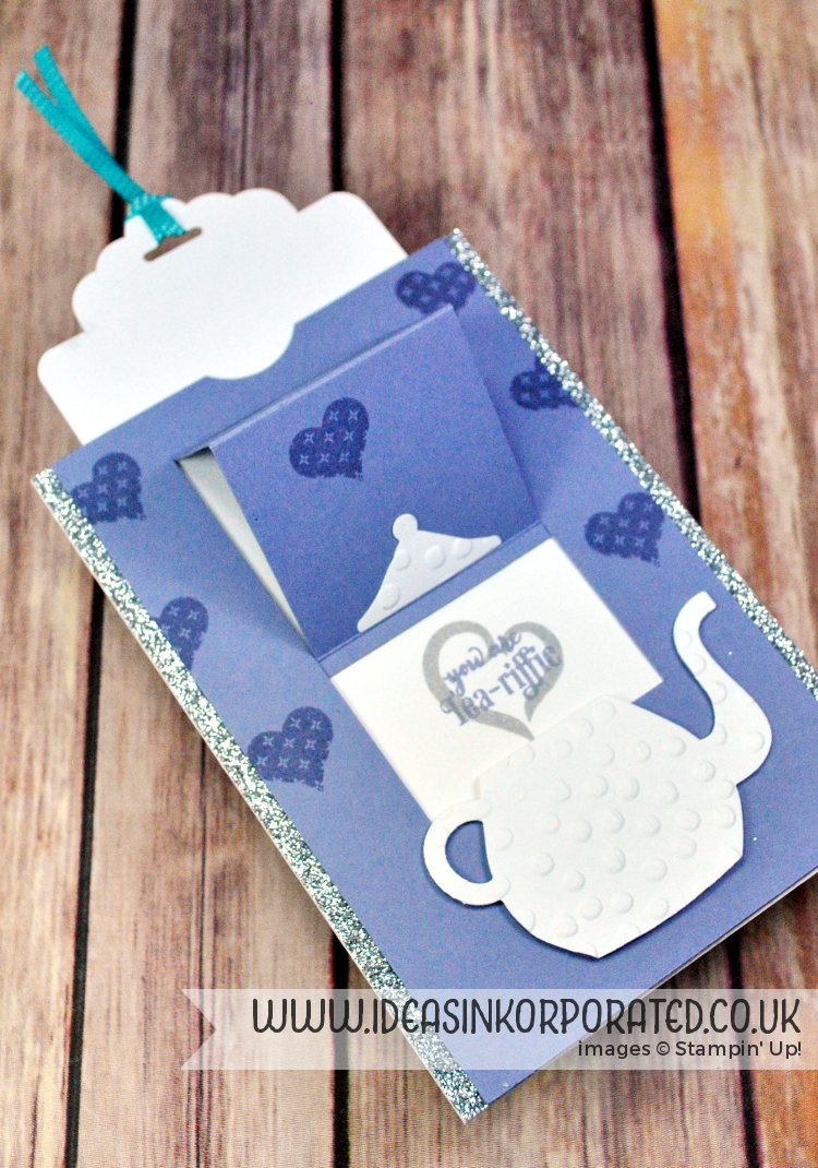 Stampin' Up! slider pop up card