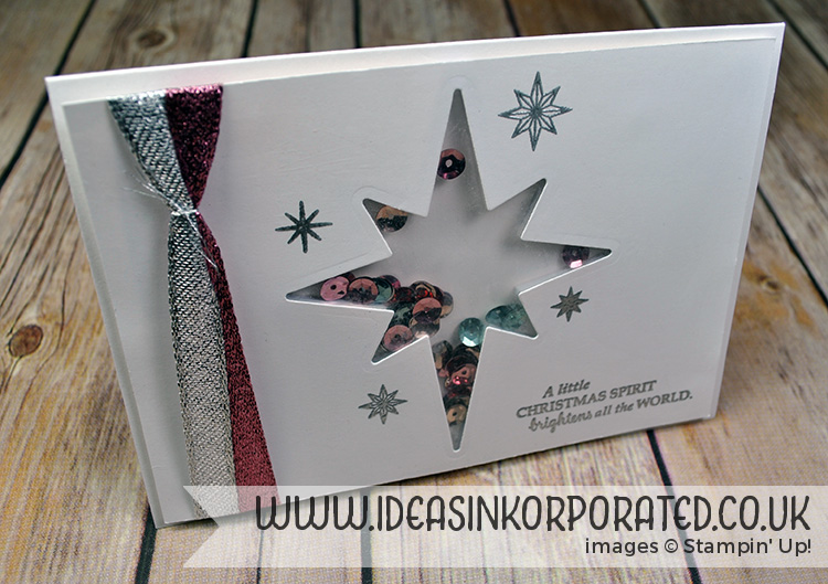 star of light shaker card