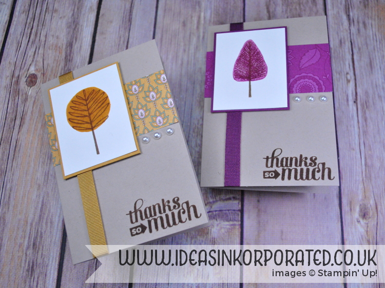 Totally Trees thank you cards